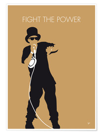 Poster Premium Public Enemy - Fight The Power