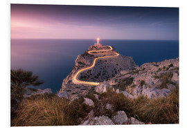 Stampa su schiuma dura  Evening light at Cap Formentor (Mallorca / Spain) - Kristian Goretzki