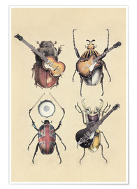 Poster Premium  Meet the Beetles 2 - Eric Fan
