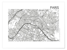 44spaces - Mappa di Parigi