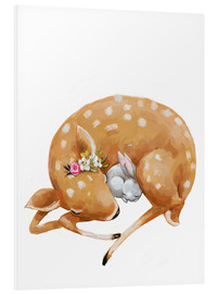 Forex  Fawn and baby bunny - Kidz Collection