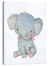 Stampa su tela  Il mio piccolo elefante - Kidz Collection
