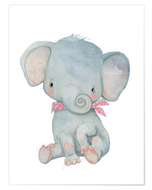 Poster Premium  Il mio piccolo elefante - Kidz Collection