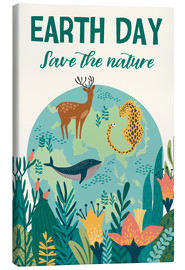 Stampa su tela  Save the nature - Kidz Collection