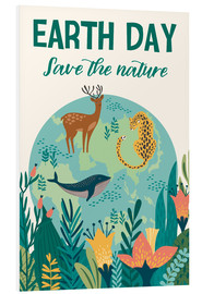 Stampa su schiuma dura  Save the nature - Kidz Collection