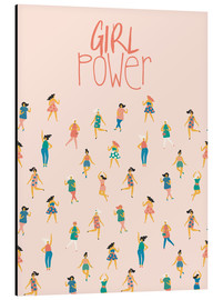 Stampa su alluminio  Girl power