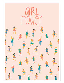 Poster Premium Girl power
