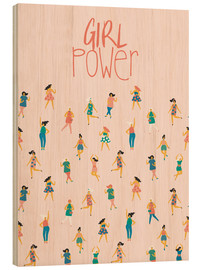 Legno  Girl power