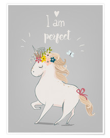 Poster Premium Perfect little unicorn