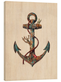 Stampa su legno  Anchor Reef - Terry Fan