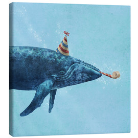 Stampa su tela  party whale - Terry Fan