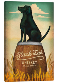 Stampa su tela  Black Lab Whisky - Ryan Fowler