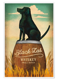 Poster Premium  Black Lab Whisky - Ryan Fowler