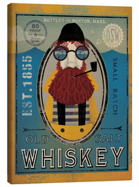 Stampa su tela  Old Salt Whisky - Ryan Fowler