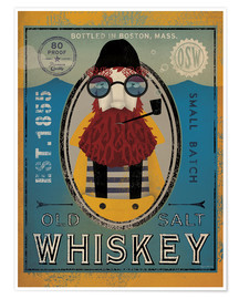 Poster Premium  Old Salt Whisky - Ryan Fowler