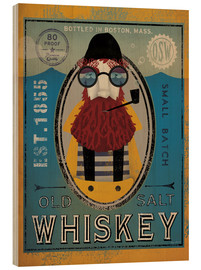 Stampa su legno  Old Salt Whisky - Ryan Fowler