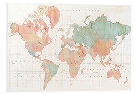 Stampa su schiuma dura  Across the World III - Sue Schlabach
