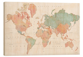 Stampa su legno  Across the World III - Sue Schlabach