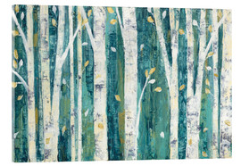Vetro acrilico  Birches in Spring - Julia Purinton