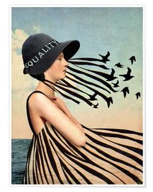 Poster Premium  Equality - Catrin Welz-Stein