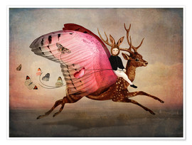 Poster  Enjoy the ride - Cathrin Welz-Stein