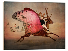 Stampa su legno  Enjoy the ride - Cathrin Welz-Stein