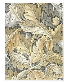 Poster Premium  Acanto - William Morris