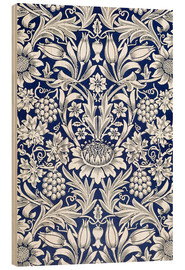 Stampa su legno  Girasole - William Morris