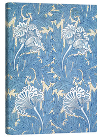 Stampa su tela  Tulipani - William Morris