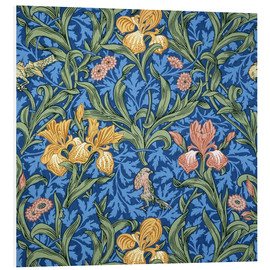 Stampa su schiuma dura  Iride - William Morris