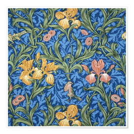 Poster Premium  Iride - William Morris