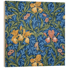 Stampa su legno  Iride - William Morris