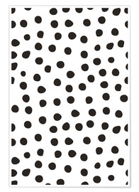 Poster Premium Pattern with dots
