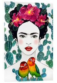 Vetro acrilico  Frida - Mandy Reinmuth