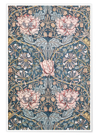 Poster Premium  Caprifoglio - William Morris