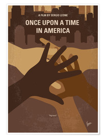 Poster Premium No942 My Once Upon a Time in America minimal movie poster