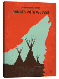 Stampa su tela  Dances With Wolves (Balla coi lupi) - chungkong
