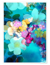 Poster Premium  Flowers in the water - Alaya Gadeh