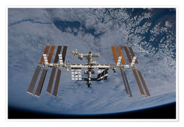 Poster Premium  International Space Station