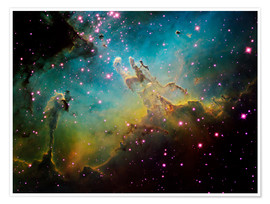 Poster Premium  the Eagle Nebula - Ken Crawford