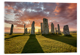 Stampa su vetro acrilico  The plants of Callanish - age fotostock