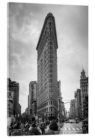 Stampa su vetro acrilico  Flatiron Building a New York City - Axiom RF