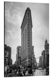 Stampa su alluminio  Flatiron Building a New York City - Axiom RF