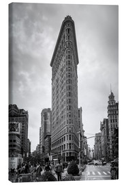 Stampa su tela  Flatiron Building a New York City - Axiom RF
