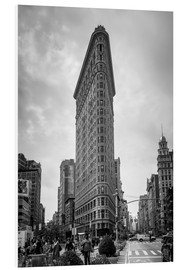 Stampa su schiuma dura  Flatiron Building a New York City - Axiom RF