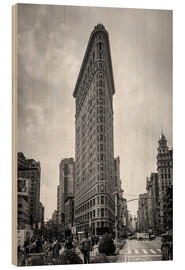 Stampa su legno  Flatiron Building a New York City - Axiom RF