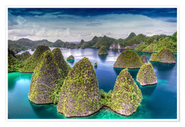 Poster Premium Raja Ampat in Indonesia
