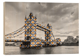 Legno  Tower Bridge Colour Pop