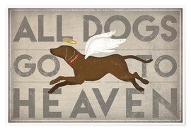 Poster Premium All Dogs Go to Heaven II