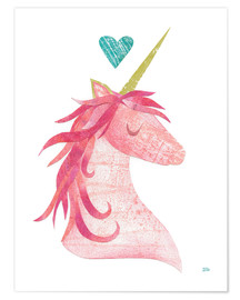 Poster Premium  Unicorn Magic I - Melissa Averinos